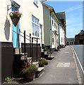 TM1473 : Terraced cottages in Magdalen Street, Eye by Evelyn Simak