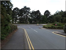 SN5981 : Aberystwyth University Road by Adrian Cable