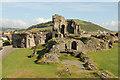 SN5781 : Aberystwyth Castle by Richard Croft
