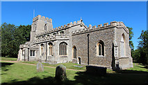 TL4731 : St Mary & St Clement, Clavering by John Salmon