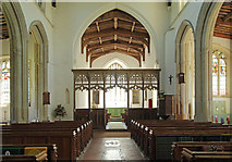 TL4731 : St Mary & St Clement, Clavering - East end by John Salmon