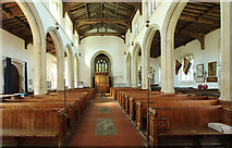 TL4731 : St Mary & St Clement, Clavering - West end by John Salmon