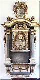 TL4731 : St Mary & St Clement, Clavering - Wall monument by John Salmon