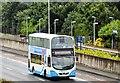 J3775 : Tall ships shuttle bus, Sydenham bypass, Belfast - July 2015 (2) by Albert Bridge