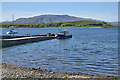 NM9045 : Port Appin jetty and the Lismore ferry by Nigel Brown