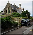 SN3610 : East side of the Church of St Thomas, Ferryside by Jaggery
