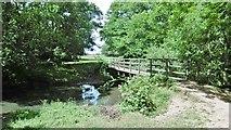 SU3804 : Beaulieu, footbridge by Mike Faherty