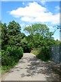 TQ3030 : Railway Bridge, Westup Road by Simon Carey