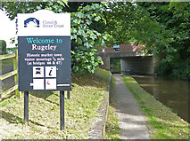 SK0418 : Welcome to Rugeley by Mat Fascione