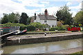SP4264 : Shop Lock 12 and Shop Lock Cottage, Grand Union Canal by Jo Turner