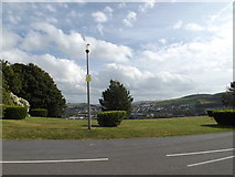 SN5981 : View off Llanbadarn Road by Adrian Cable