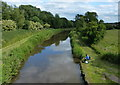 SK0419 : Fisherman on the Trent & Mersey Canal by Mat Fascione