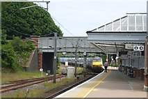 NT9953 : Train pulls out of Berwick station by DS Pugh