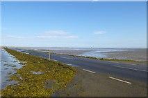 NU0842 : Across the causeway by DS Pugh