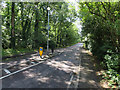 TL3464 : Traffic calming, Boxworth by Hugh Venables