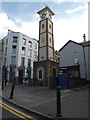 SN5881 : Clock Tower on Pier Street by Adrian Cable
