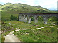 NM9081 : Path at Glenfinnan viaduct by Malc McDonald
