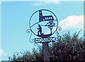 TG3227 : Honing village sign (detail) by Adrian S Pye