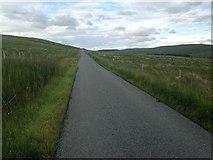 NS6829 : Minor road near Middlefield Farm by Steven Brown