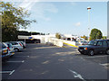 SX8672 : Two-level car park, Tesco supermarket, Newton Abbot by Robin Stott