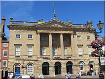 SK7953 : Newark Town Hall by Peter Wood