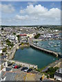 SW4730 : Penzance inner harbour by Rod Allday