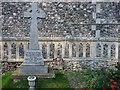 TG3610 : North Burlingham War Memorial by Adrian S Pye