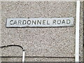 SS7297 : Cardonnel Road sign by Geographer