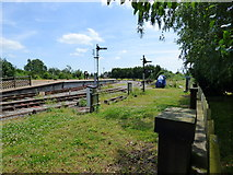 SO6302 : Lydney Junction Station, Forest of Dean Railway by Dr Neil Clifton