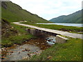 NM8877 : Bridge over Allt Coire Ghiubhsachain, near Glenfinnan by Malc McDonald