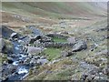 NY2216 : Sheepfold in Newlands Valley by Graham Robson