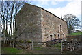 NY6621 : Barn at entrance to Crackenthorpe from A66 by Roger Templeman