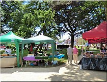 SJ8588 : Cheadle Makers Market by Gerald England