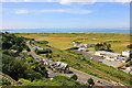 SH5831 : Harlech Castle, the view south west by Jeff Buck