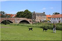 NT5173 : Nungate Bridge, Haddington by Walter Baxter