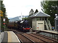 NM8980 : Steam train arriving at Glenfinnan by Malc McDonald
