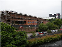 NS5666 : The Kelvin Hall under reconstruction by Richard Sutcliffe