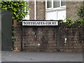 SS7397 : Whitegates Court sign by Geographer
