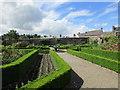 S1389 : Roscrea Castle, formal gardens by Jonathan Thacker