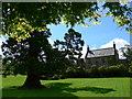 NS3478 : The walled garden at Geilston by Gordon Brown