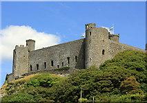 SH5831 : Harlech Castle by Jeff Buck
