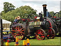 SO6452 : Bromyard Gala - Burrell traction engine by Chris Allen