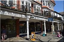 TQ5838 : Colonnade, The Pantiles by N Chadwick