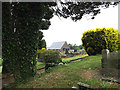 SS7196 : Coedffranc Cemetery Chapel, Skewen by Geographer