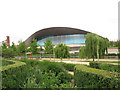 TQ3784 : Olympic Park: green planting by Stephen Craven
