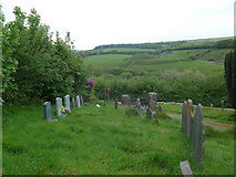 SS6644 : Christ Church, Parracombe: churchyard (vi) by Basher Eyre