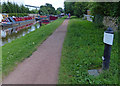 SJ8934 : Trent & Mersey Canal Milepost in Stone by Mat Fascione