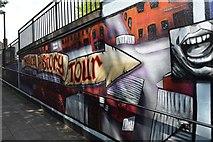SJ8446 : Newcastle-under-Lyme: Bridge Street Subway (2) by Jonathan Hutchins