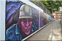 SJ8446 : Newcastle-under-Lyme: Bridge Street Subway (5) by Jonathan Hutchins