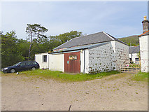 NM4099 : Fire and rescue service, Isle of Rum by Oliver Dixon